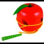 Fűzögethető kukac almával