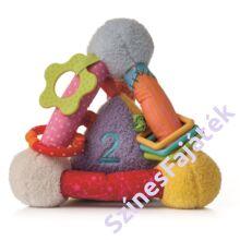 fejlesztő háromszög játék babáknak