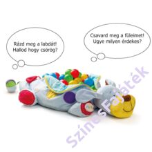 IPO fejlesztő játék kutyus labdákkal