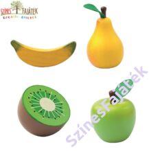 fajáték gyümölcsök