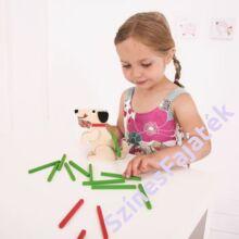 kiskutyás egyensúlyozós játék