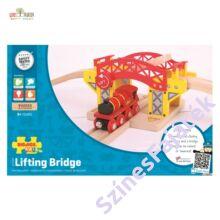 favonat híd sorompóval csomagolás