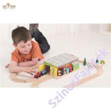 vonat javító-műhely