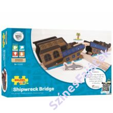 Bigjigs hajóroncs híd - favonat kiegészítő