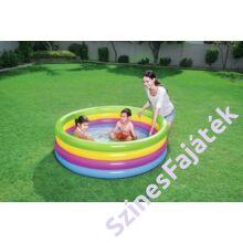Bestway - színes felfújható gyerek medence