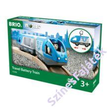 Brió elemes utaszállító vonat csomagolás