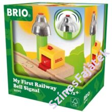 Brio elhaladásjelző csengő - favonat kiegészítő