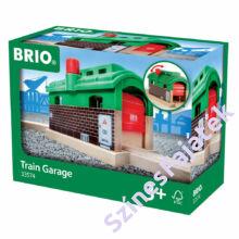 Brio garázs fa vonat kiegészítő