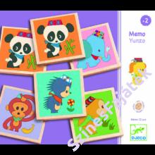 Djeco - Yunzo memóriajáték - 32 darabos