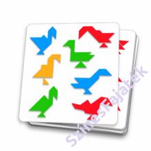 Djeco - Mágneses tangram