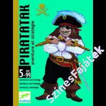 Djeco - Piratatak kártyajáték