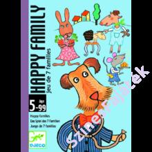 Djeco - Happy family kártyajáték