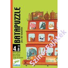 Djeco Bata puzzle - kirakós kártyajáték