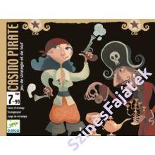 Djeco Casino Pirate - kártyajáték gyerekeknek