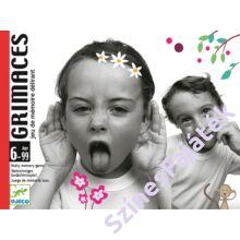Djeco Grimaszok - memória kártyajáték gyerekeknek