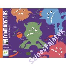 Djeco TrioMonsters - stratégia kártyajáték gyerekeknek