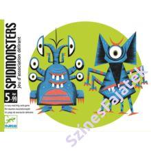 Djeco SpidMonsters - kártyajáték gyerekeknek