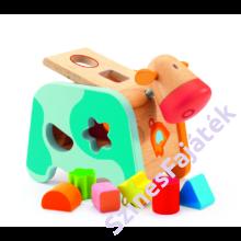 Djeco - Fa formaválogató tehén