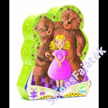 Djeco - Aranyhaj és a három medve - Kirakó díszdobozban