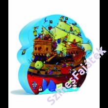 Djeco - Rőtszakáll hajója - Mesés kirakó díszdobozban