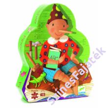 Djeco - Pinokkió - Mesés kirakó díszdobozban