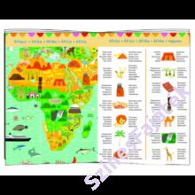 Djeco - A Föld térképe - Kirakó és böngészőkönyv