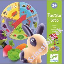 Djeco A farm - tapintós fejlesztő játék
