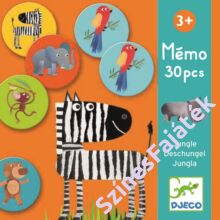 Djeco Dzsungel állatai - fejlesztő játék