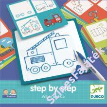 Djeco Lépésről lépésre - Arthur - készségfejlesztő játék