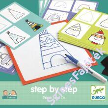 Djeco Lépésről lépésre - Géo - készségfejlesztő játék