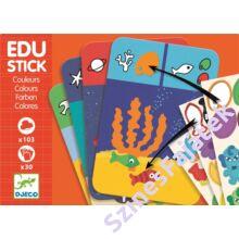 Djeco Oktató matricák - színek - készségfejlesztő játék