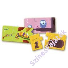 baba puzzle - párosító puzzle - mama és kicsinye