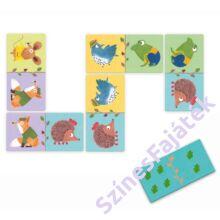 dominó játék - Djeco dominó - állatok
