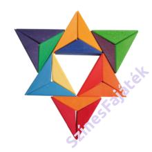 Kirakós fajáték - csillag alakú - waldorf