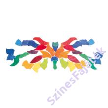 Kirakós fajáték - Pillangó - waldorf