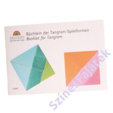 Tangram - fejlesztő játék - kék-zöld
