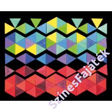 Hatszög mágnes puzzle - waldorf fajáték