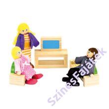 színes babaház nappali