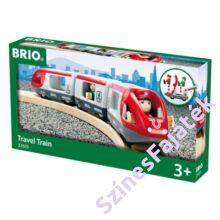 Brio utasszállító vonat - fa sínekhez