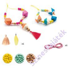 Djeco gyöngyök és kockák - ékszerkészítő játék