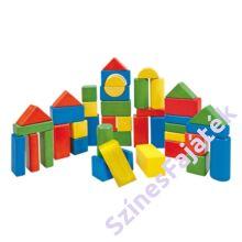 50 darabos építőkocka