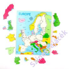 Európa térkép - puzzle - 25 darabos