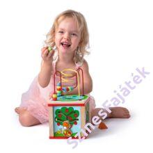 fa készségfejlesztő játékkocka