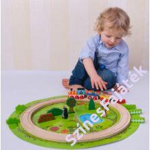 Fa vonat szett - Kisvakond
