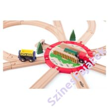 sín fordító fa vonatokhoz - nagy