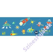Djeco függődísz - gyerekszoba dekor - Űrutazás