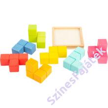 logikai fa játék tetrisz