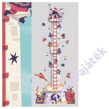 magasságmérő falmatrica gyerekeknek Lovagi torony