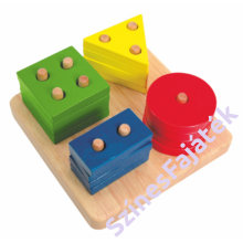 Montessori játék - szín és formaválogató játék