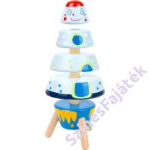 Montessori torony - fajáték - űrhajó_Lagler